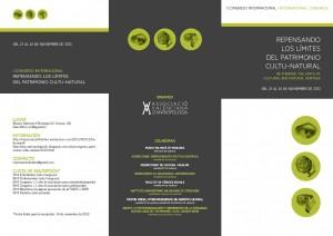 triptico Congreso antropologia 2013