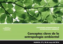 Cartel I Encuentro Antrop Ambiental