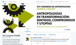 Twitter XIV Congreso Antropología